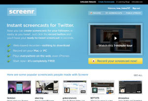 www.screenr.com
